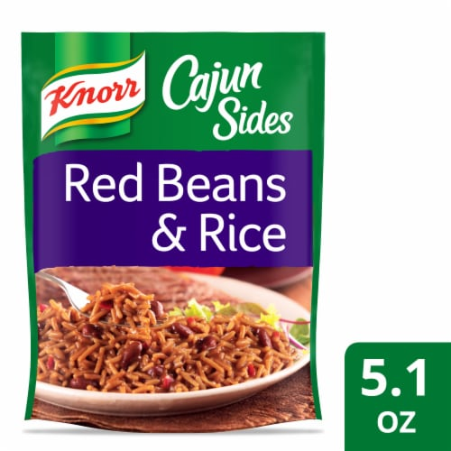 Knorr Cajun Sides Red Beans & Rice Perspective: front