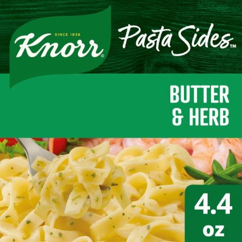 Knorr Pasta Sides Butter & Herb Fettuccine Perspective: front