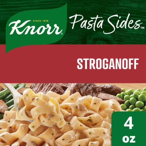 Knorr Pasta Sides Stroganoff Fettuccine Pasta Side Dish Perspective: front