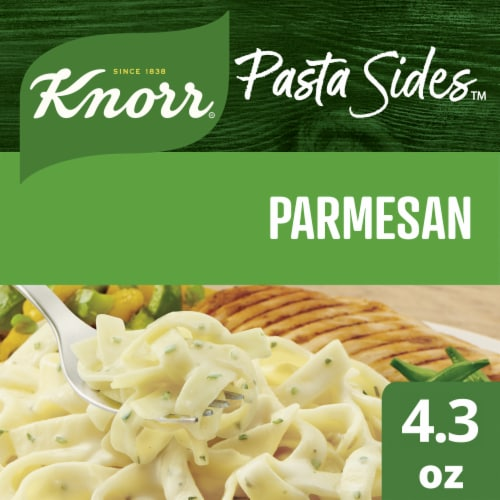 Knorr Pasta Sides Parmesan Fettuccine & Spinach Pasta Perspective: front