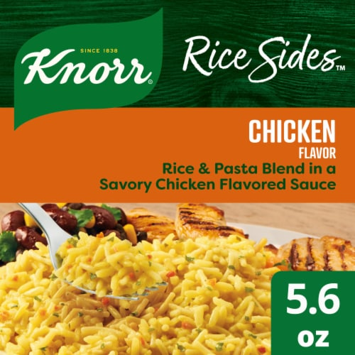 Knorr Rice Sides Chicken Flavor Rice & Pasta Blend Perspective: front