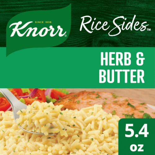 Knorr Rice Sides Herb & Butter Rice and Pasta Blend Perspective: front