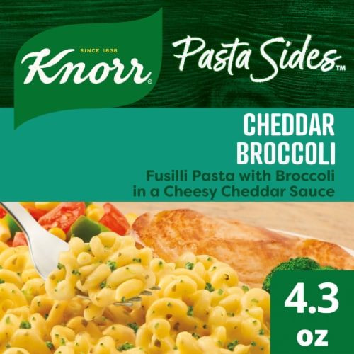 Knorr Pasta Sides Cheddar Broccoli Spiral Pasta Perspective: front