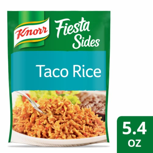 Knorr Fiesta Sides Taco Rice and Pasta Blend Perspective: front