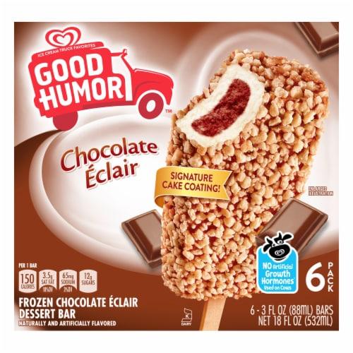 Good Humor Chocolate Eclair Dessert Bars Perspective: front