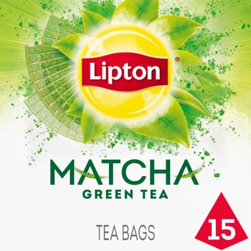 Lipton Magnificent Matcha Green Tea Bags Perspective: front
