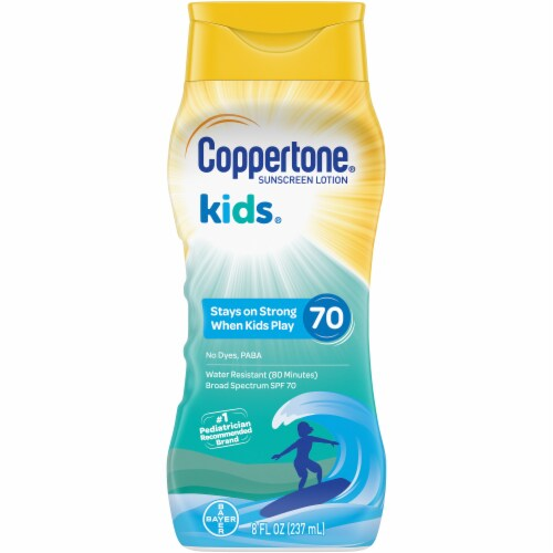Coppertone Kids Sunscreen SPF 70 Perspective: front