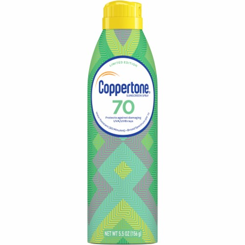 Coppertone Ultra Guard Water Resistant Sunscreen Spray SPF 70 Perspective: front