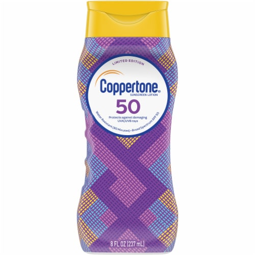 Coppertone ultraGUARD Sunscreen Lotion SPF 50 Perspective: front