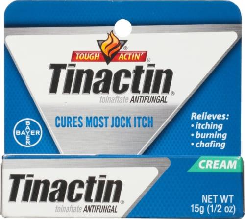 Tinactin Jock Itch Antifungal Cream Perspective: front