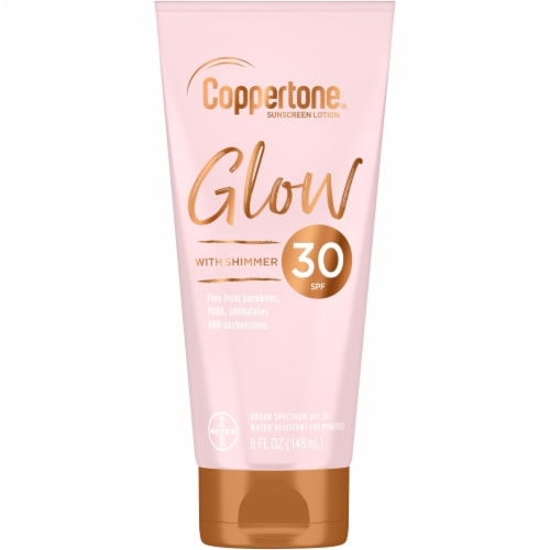 Coppertone Glow Lotion SPF 30 Perspective: front