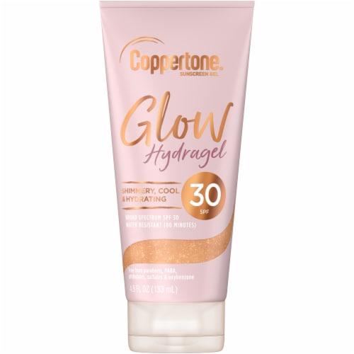 Coppertone Glow Hydragel SPF 30 Sunscreen Gel Perspective: front