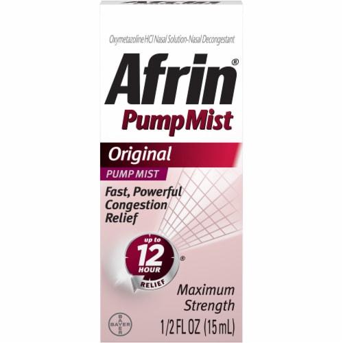 Afrin Original Pump Mist Perspective: front