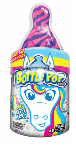 Baby Bottle Pop Message in a Bottle Perspective: front