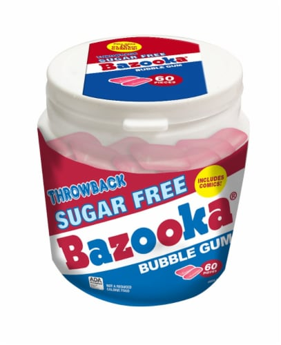 Bazooka Sugar Free Gum To Go Cup Perspective: front