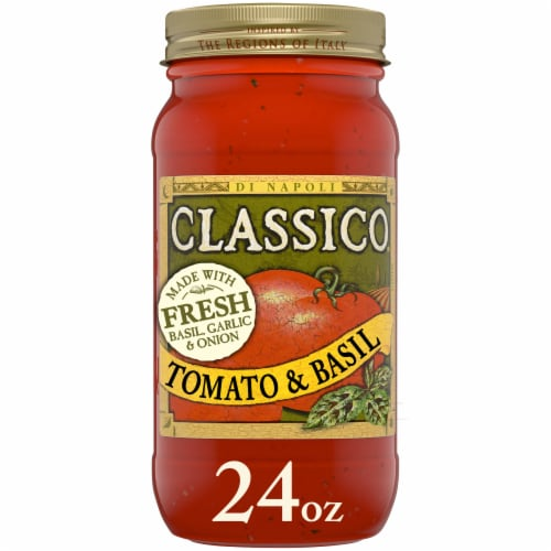 Classico Tomato and Basil Pasta Sauce Perspective: front