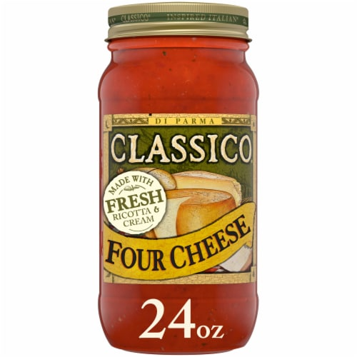 Classico Four Cheese Pasta Sauce Perspective: front
