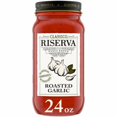 Classico Riserva Roasted Garlic Pasta Sauce Perspective: front