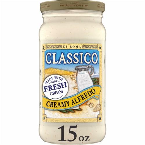 Classico Light Creamy Alfredo Pasta Sauce Perspective: front