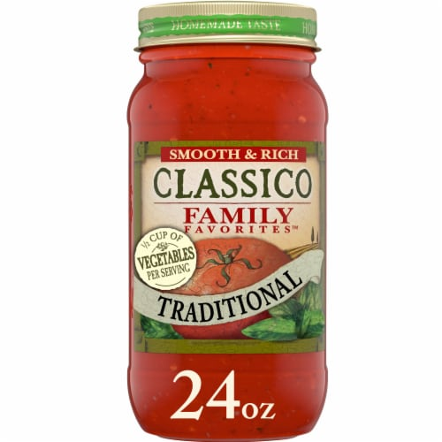 Classico Family Favorites Traditional Pasta Sauce Perspective: front