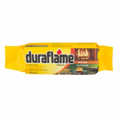 Duraflame Indoor/Outdoor Firelog Perspective: front
