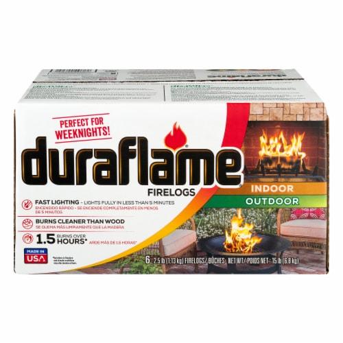 Duraflame Original Firelogs Perspective: front