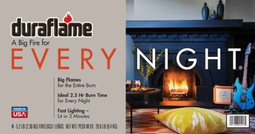 Duraflame® Every Night Fire Logs Perspective: front