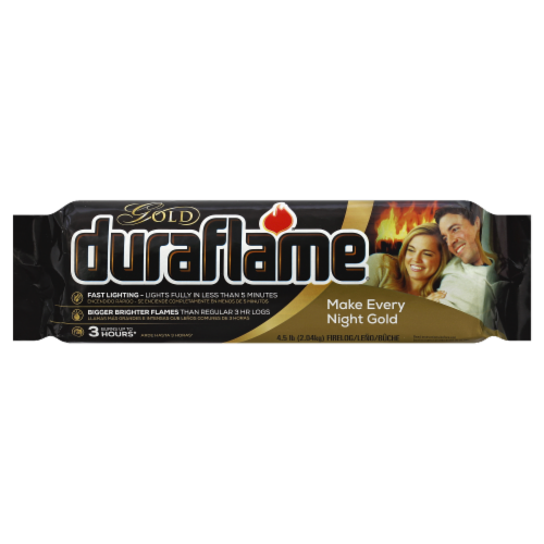 Duraflame Gold Firelogs Perspective: front