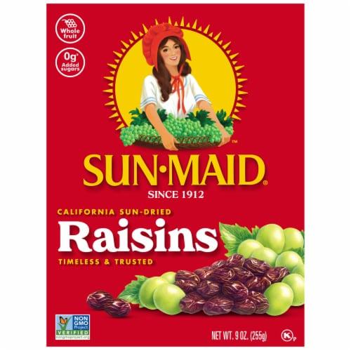 Sun-Maid Natural California Raisins Perspective: front