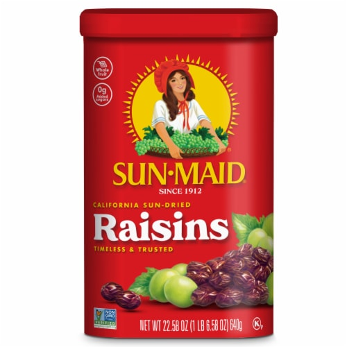 Sun-Maid California Sun-Dried Raisins Perspective: front