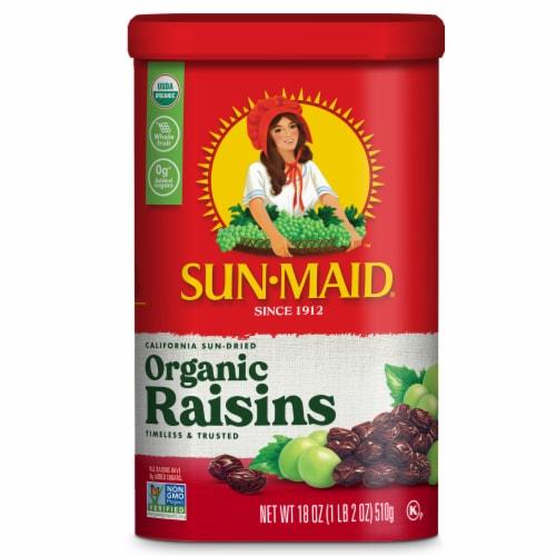 Sun-Maid Organic California Raisins Perspective: front