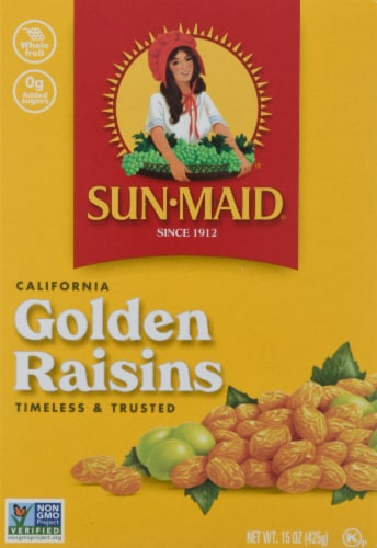 Sun-Maid California Golden Raisins Perspective: front