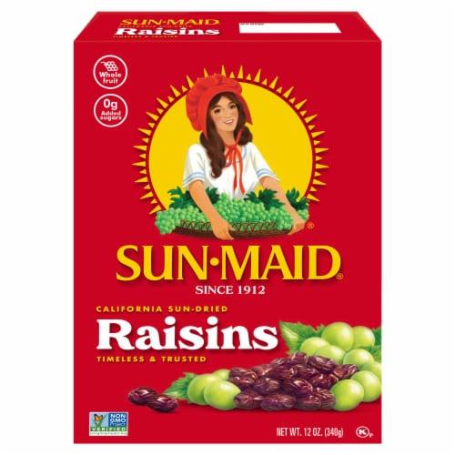 Sun-Maid California Sun-Dried Raisins Perspective: front