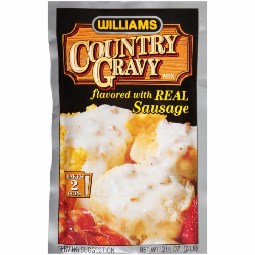 Williams Sausage Country Gravy Mix Perspective: front