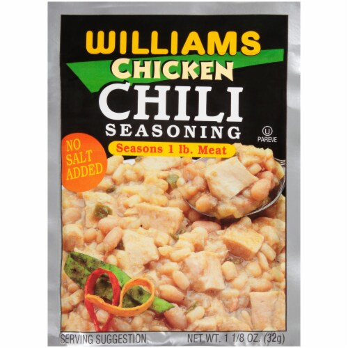 Williams Chicken Chili Seasoning Mix Perspective: front