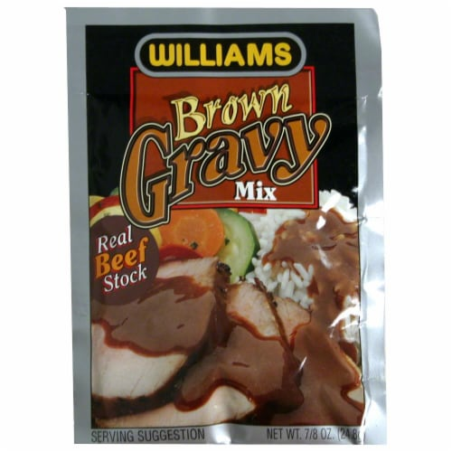 Williams Brown Gravy Mix Perspective: front