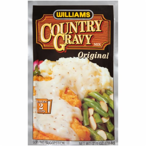 Williams Original Country Gravy Mix Perspective: front