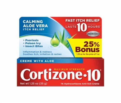 Cortizone 10 Creme with Aloe Perspective: front