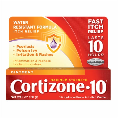 Cortizone 10 Maximum Strength Ointment Perspective: front