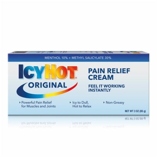 Icy Hot Original Pain Relief Cream Perspective: front