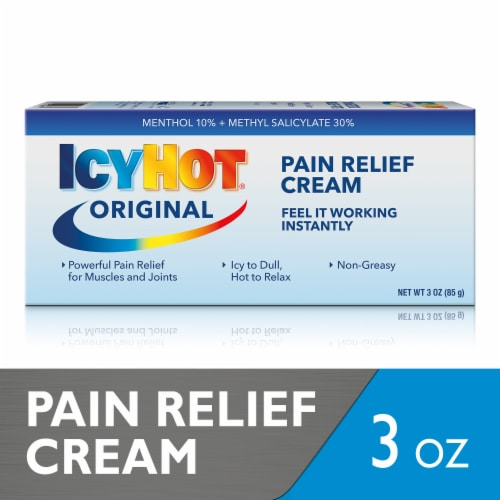 Icy Hot Extra Strength Pain Relieving Cream Perspective: front