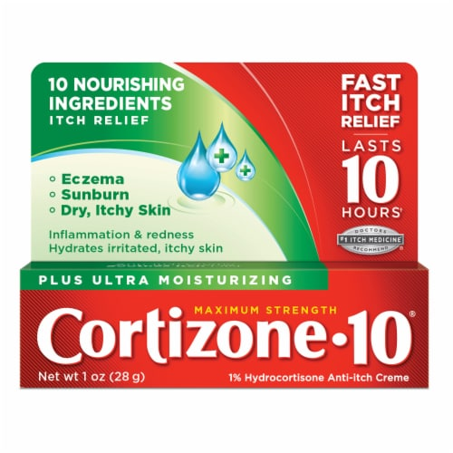 Cortizone 10 Plus Ultra Moisturizing Creme Perspective: front