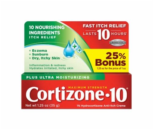 Cortizone 10 Ultra Moisturizing Maximum Strength Anti-Itch Creme Perspective: front