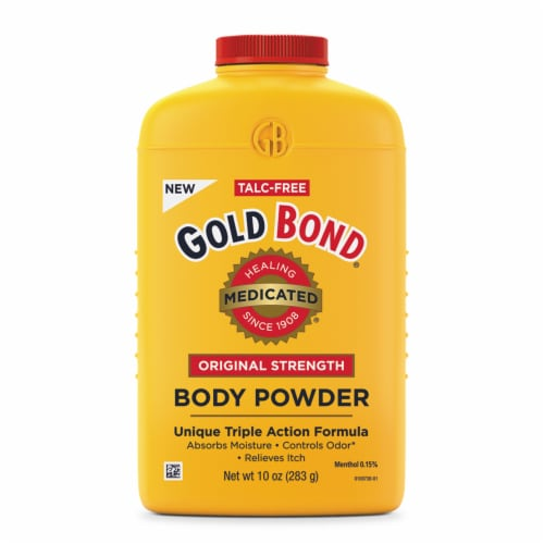 Gold Bond Medicated Original Strength Body Powder Perspective: front