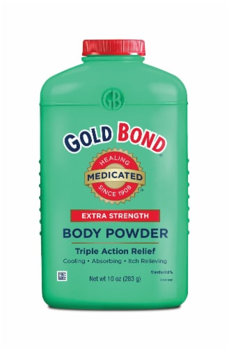 Gold Bond Extra Strength Triple Action Relief Body Powder Perspective: front