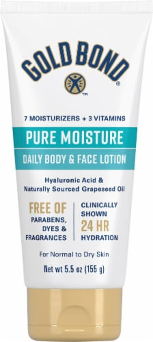 Gold Bond® Ultimate Pure Moisture Daily Body & Face Lotion Perspective: front