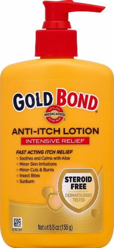 Gold Bond Steroid-Free Anti-Itch Lotion Intensive Relief Perspective: front