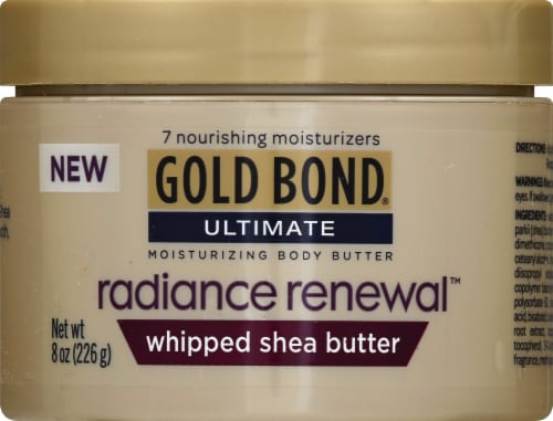 Gold Bond Ultamte Radiance Renewal Whipped Body Butter Perspective: front
