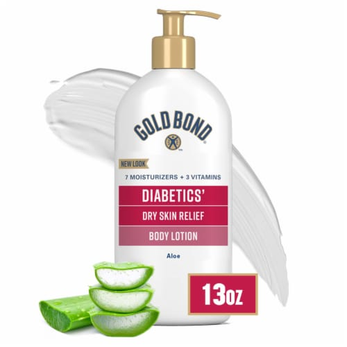 Gold Bond Ultimate Diabetics' Dry Skin Relief Lotion Perspective: front