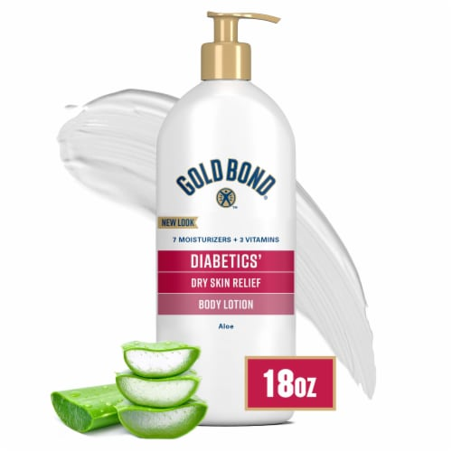 Gold Bond Ultimate Diabetics Dry Skin Relief Perspective: front
